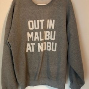 kitson Tops - * Out in Malibu at Nobu Sweatshirt